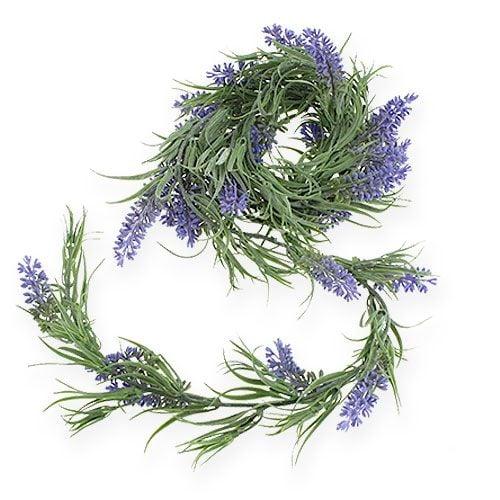 Lavendelgirlande Violett 175cm