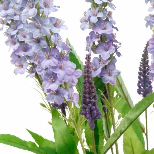Sommerflieder, Schmetterlingsflieder, Künstlicher Lilienzweig, Seidenblume 6St