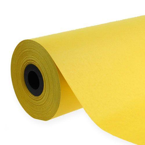 Manschettenpapier 37,5cm 100m Gelb