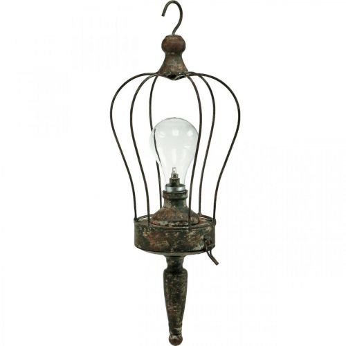 LED-Laterne, Deko-Leuchte Antik-Look Ø16cm H43cm