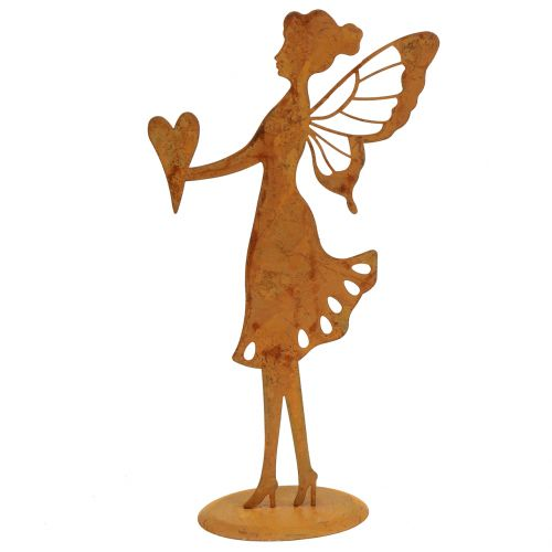 Deko-Figur Elfe Edelrost H24cm