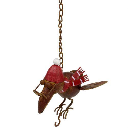 Vogel fliegend Rost 30,5cm