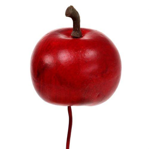 Mini-Äpfel am Draht Ø3,5cm 48St