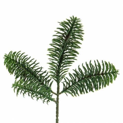 Nobilis-Tannenzweig künstlich Grün 24cm 12St