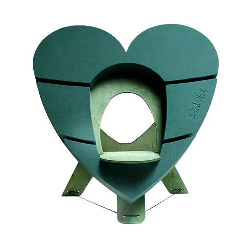 OASIS® Bioline® Deco Urnenherz 65cm mit Aufsteller