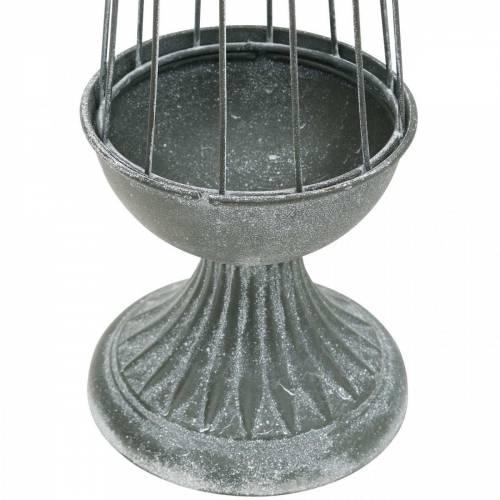 Rankhilfe, Metalldeko, Gesteckgrundlage, Tischdeko aus Metall
