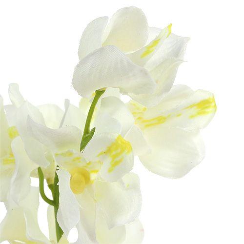 Orchidee künstlich Creme 50cm 6St