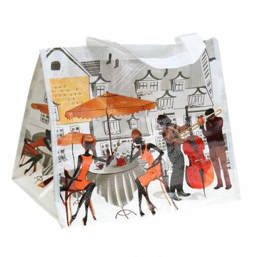 Einkaufstasche mit Henkeln Bella Vita Kunststoff 32×21×26cm