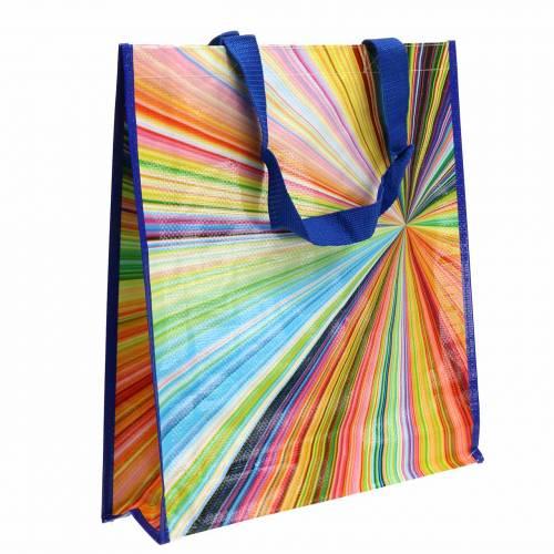 Einkaufstasche mit Henkeln Mikado Kunststoff 37×10×40cm