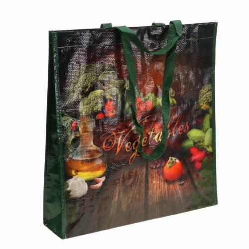 Einkaufstasche mit Henkeln Vegetables Kunststoff 38×10×39cm