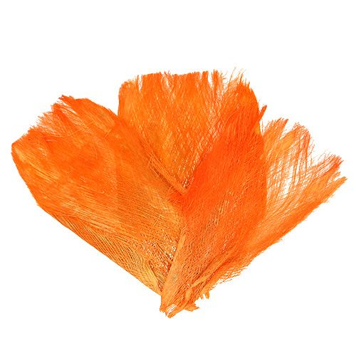 Palmfaser pastell hellorange (400gr)