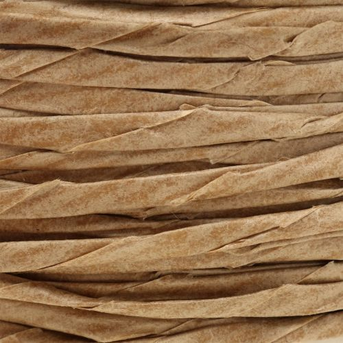 Papierkordel Natur ohne Draht Ø3mm 40m