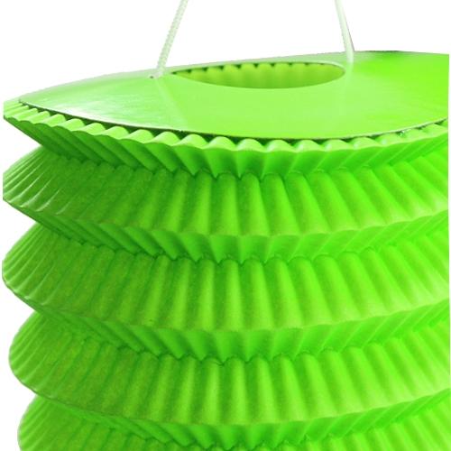 Papierlaterne Grün 10cm H13cm 8St