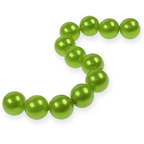 Deko-Perlen Ø2cm Apfelgrün 12St