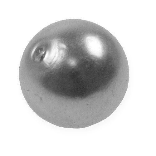 Deko-Perlen Ø2cm Silber 12St