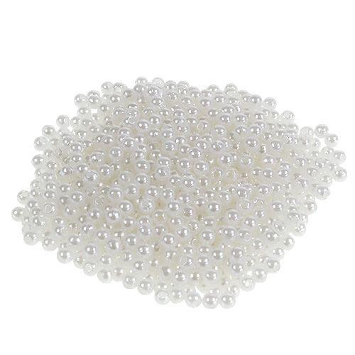 Perlen Weiß Ø4mm 200g