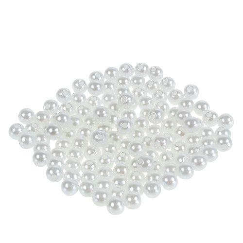 Perlen Weiß Ø6mm 200g