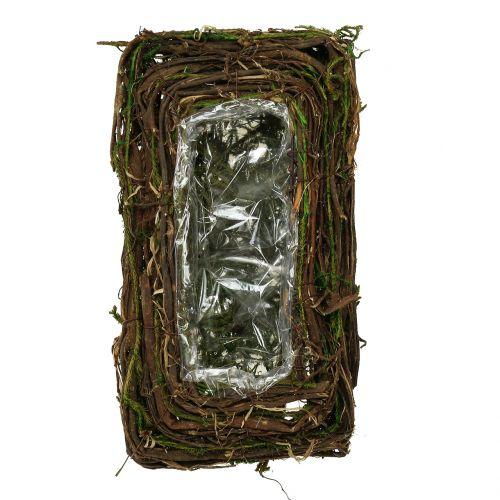 Pflanzkissen für das Grab 16,5cm x 29cm 1St