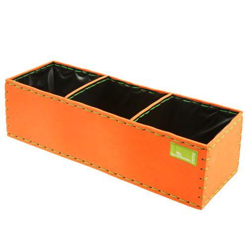 Pflanzkasten Orange 40cm x 14cm x 11cm