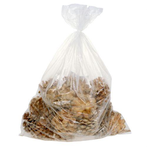 Pineazapfen creme gemischt 5-18cm 25St