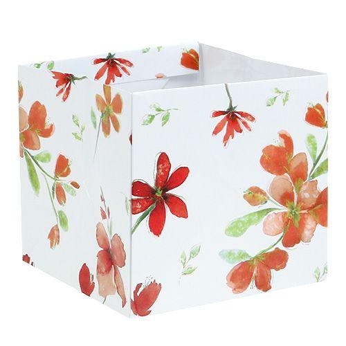 cbb93d68ab105 Papier Tasche 12cm x 12cm mit Muster 8St preiswert online kaufen
