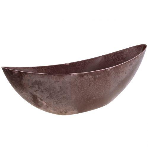 Blumenschale Bordeaux 55,5cm x 14cm H17,5cm 1St