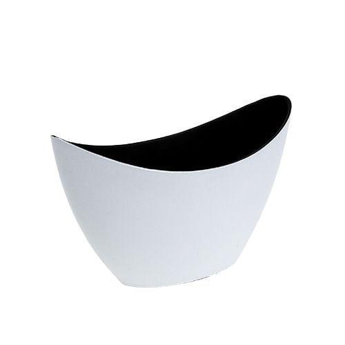 Plastikschiffchen Weiß 20cm x 9cm H12cm