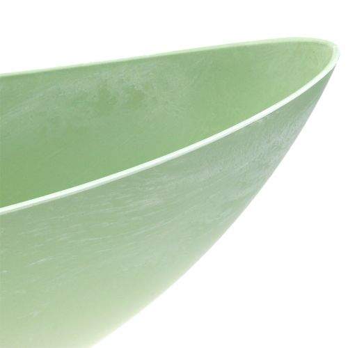 Deko-Schale Pflanzschale Pastellgrün 55cm x 14,5cm H17cm