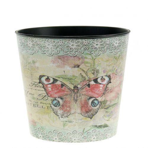 Pflanztopf Vintage Schmetterling Ø13cm