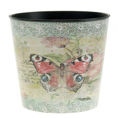 Pflanztopf Vintage Schmetterling Ø15,5cm