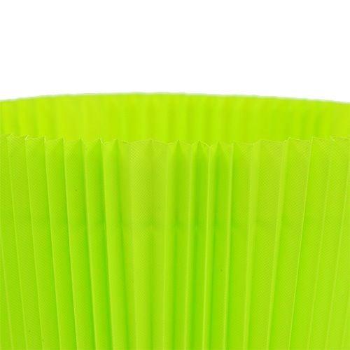 Plisseemanschetten Hellgrün 10,5cm 100St