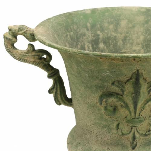 Pokal Schale Antik Grün Ø20cm H24cm