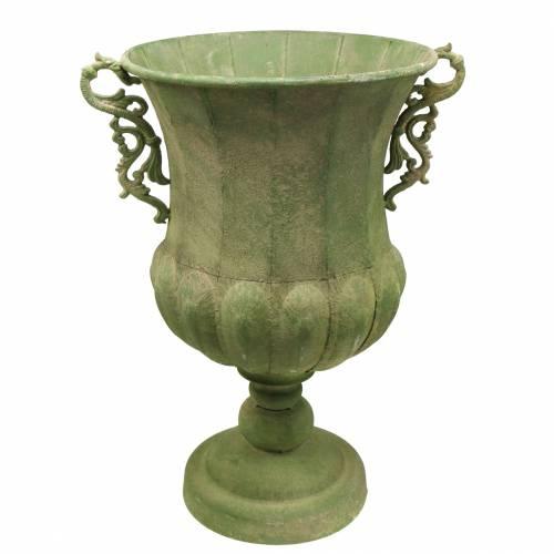 Pokal Grün Antik Ø34cm H55cm