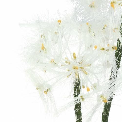 Künstliche Wiesenblume Riesenpusteblume Weiß 57cm