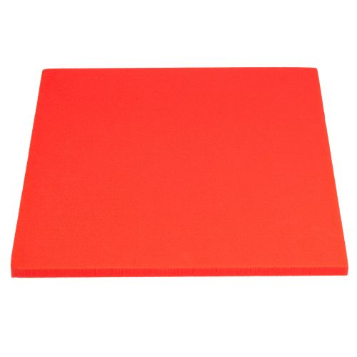 Steckschaum Platte Rot 3St