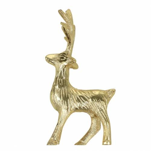 Deko-Rentier Golden Metall 12,5cm × 6,5cm 3St