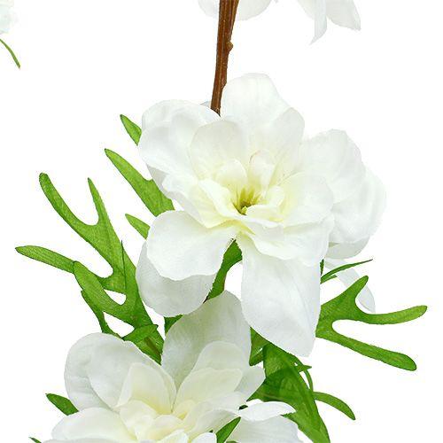 Rittersporn künstlich Weiß 95cm