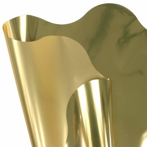 Rondella Manschette Gold Metallic zweifarbig 60cm 50St