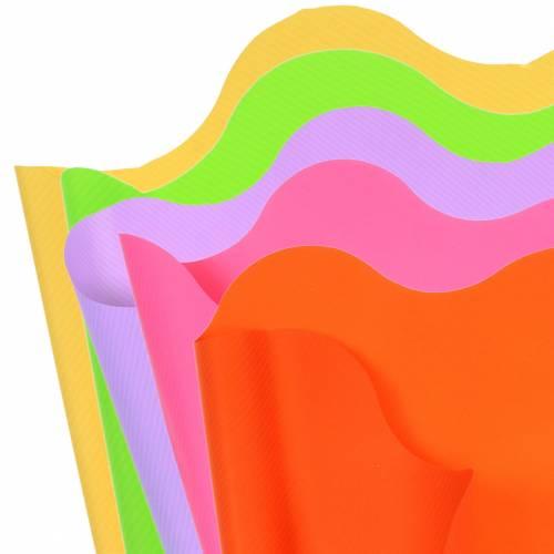 Rondella Manschette Gestreift Ø60cm 50St Verschiedene Farben