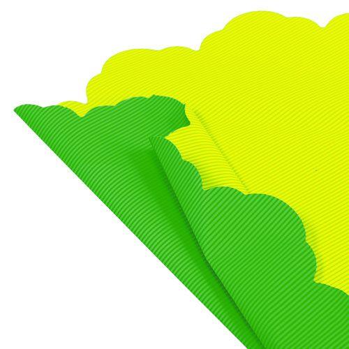 Rondella Ø48cm zweifarbig Grün-Gelb 50St