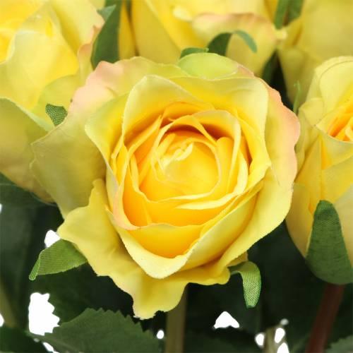 Rose Gelb 42cm 12St