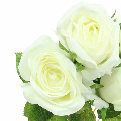 Rose Weiß 40cm