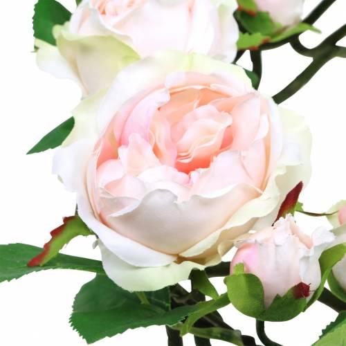 Rosenkranz Rosa Ø35cm