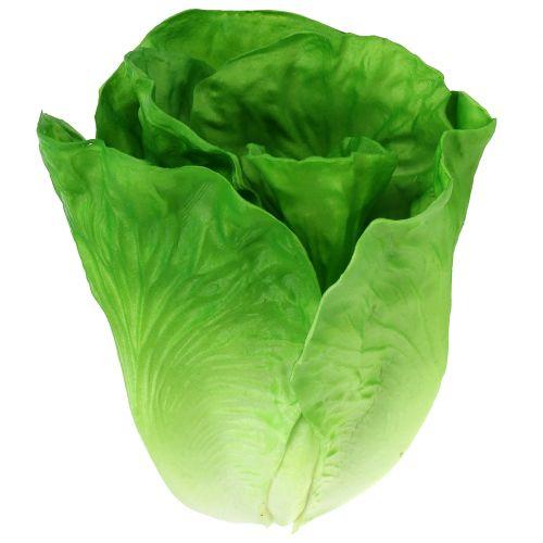 Salatkopf Grün Deko 17,5cm