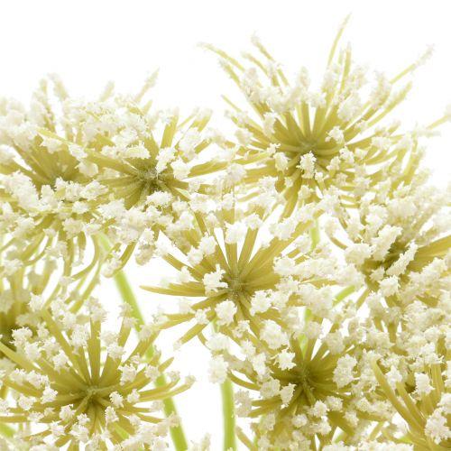 Schafgarbe künstlich Weiß L84cm