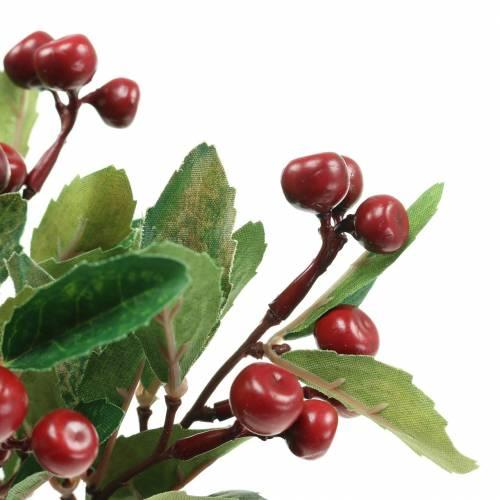 Scheinbeerenstrauch künstlich Rot Mit 7 Ästen