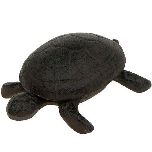 Schlüsselversteck Schildkröte Braun 11cm x 8cm x 4cm