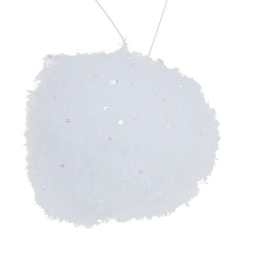Schneeball Ø5cm Weiß 6St