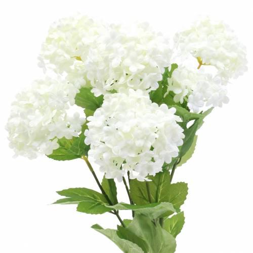 Schneeball Viburnum Zweig Weiß 42,5cm