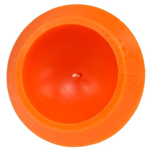 Schwimmkerze in Orange Ø16cm